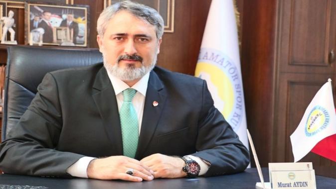 Başkan Murat Aydın, TASKK'da
