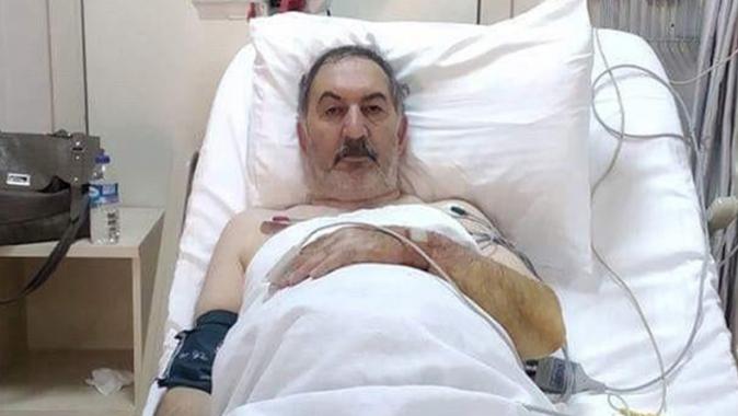Gazeteci Şahin Asker rahatsızlandı
