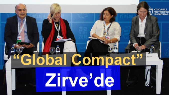 """Global Compact"" Zirve'de"