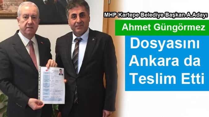 Güngörmez Dosyasını Ankara da Teslim Etti