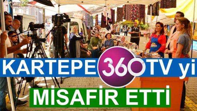 KARTEPE 360 TV'Yİ MİSAFİR ETTİ