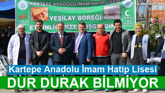 Kartepe Anadolu İmam Hatip Lisesi DUR DURAK BİLMİYOR