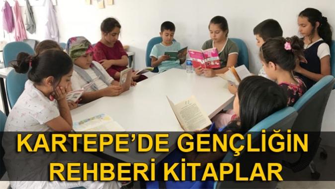 KARTEPE'DE GENÇLİĞİN REHBERİ KİTAPLAR
