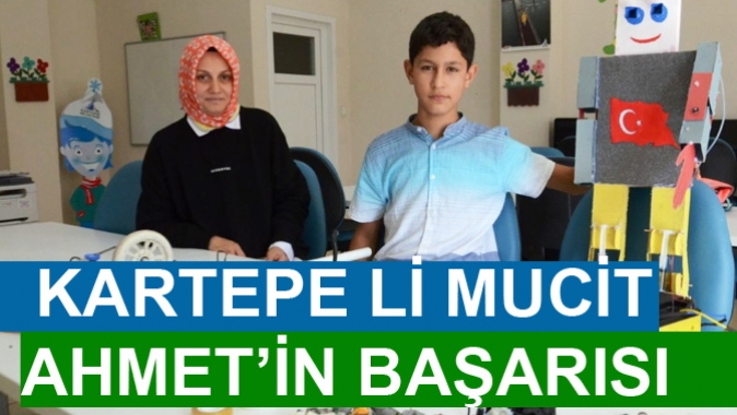 KARTEPE'DE MUCİT AHMET'İN BAŞARISI