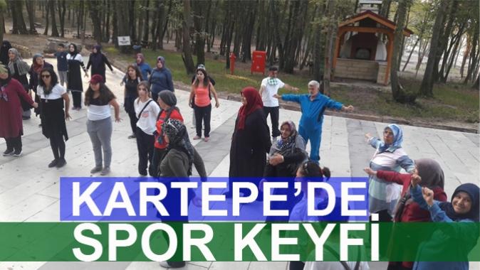 KARTEPE'DE SPOR KEYFİ