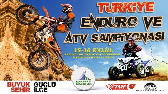 KARTEPE'DE TÜRKİYE ATV ENDURO ŞAMPİYONASI