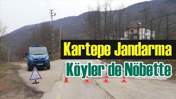 Kartepe Jandarma 24 saat Nöbette