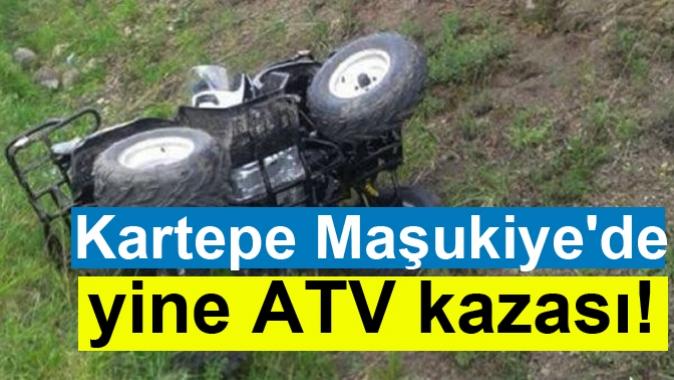 Kartepe Maşukiyede yine ATV kazası!