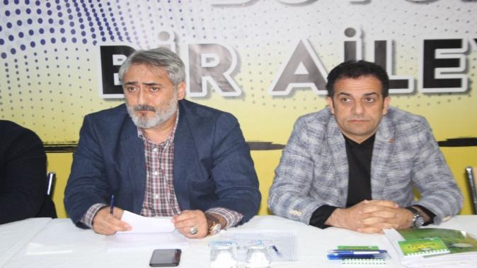 KASKF Amatör Süper Lig ve Birinci Amatör Kulüp Başkanlarıyla toplandı