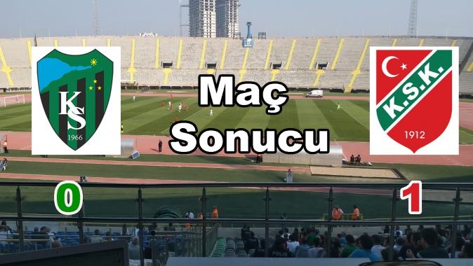 Kocaeli Spor 0 - Karşıyaka Spor 1 Maç sonucu