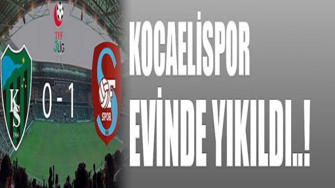 Kocaeli Spor 0 Of Spor 1 Maç Sonucu