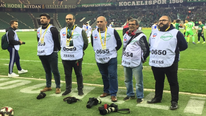 KOCAELİ Spor Basının dan Yönetime Protesto