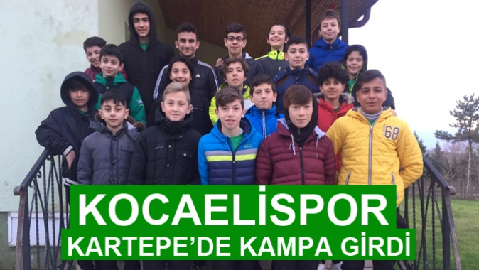KOCAELİSPOR KARTEPE'DE KAMPA GİRDİ
