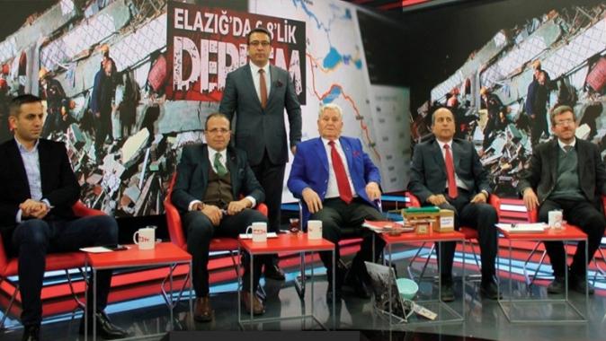 Mehmet Aras, canlı yayında sinirlendi