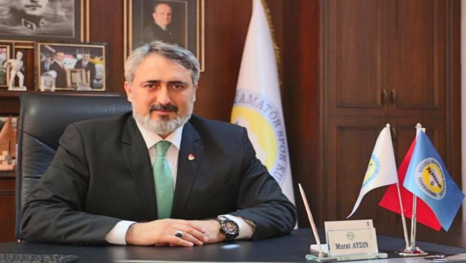 Murat Aydın Görevinin Başında
