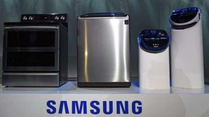 Samsung'un çamaşır makineleri de patlıyor!
