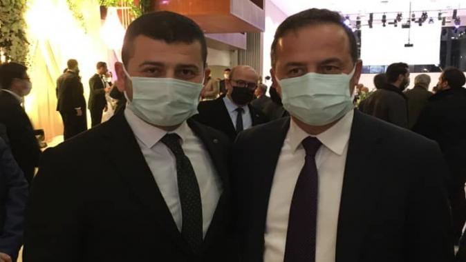 """Tamyüksel'den Ağıralioğlu'na tam destek """"Bizim Milliyetçiliğimizin zekatı size bir ömür yeter"""""""