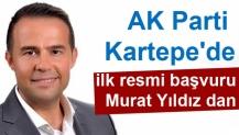 AK Parti Kartepe'de ilk resmi başvuru Murat Yıldız dan