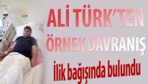 Ali Türk'ten örnek davranış