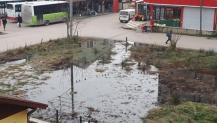 Araziyi su basıyor, halk mağdur oluyor