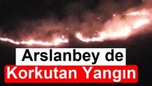 Arslanbey de Korkutan Yangın
