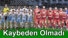 Arslanbey Stadın da Kaybeden Olmadı