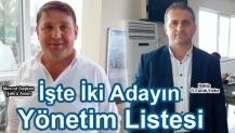 Arstaş ta İki Adayın Yönetim Listesi