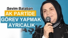 Balaban Ak Parti de Görev Yapmak Ayrıcalık