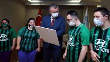 Başkan Büyükakın destek verdi, Değirmendere'de Down Kafe açılıyor