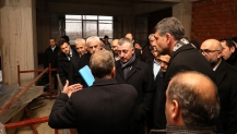 Başkan Büyükakın, İstasyon Camii'nde inceleme yaptı