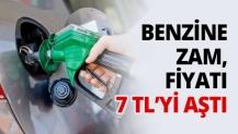 Benzine Zam, fiyatı 7 TL'yi aştı