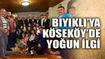 Bıyıklı'ya Köseköy'de yoğun ilgi!