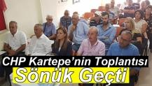 CHP Kartepe'nin Toplantısı Sönük Geçti