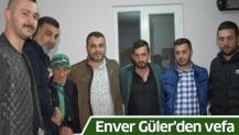 Enver Güler'den vefa