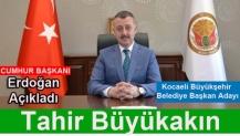 Erdoğan Açıkladı; KBB Adayı Tahir Büyükakın