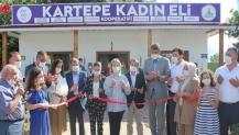 İlk kadın kooperatifi KARKAD Kartepe de açıldı!