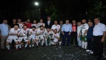 İstasyon Mahallesi Turnuvası Şampiyonu AS Kuyumculuk