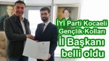 İYİ Parti Kocaeli Gençlik Kolları İl Başkanı belli oldu