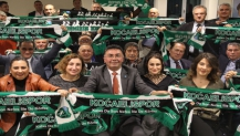 İYİ Partililer Kocaeli Erok Spor maçına hazır