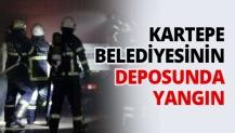 Kartepe Belediyesinin Deposunda yangın