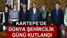 KARTEPE'DE DÜNYA ŞEHİRCİLİK GÜNÜ KUTLANDI