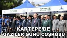 KARTEPE'DE GAZİLER GÜNÜ KUTLANDI