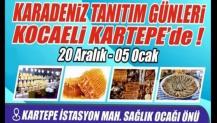 Kartepe'de Karadeniz tanıtım Günleri