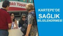 KARTEPE'DE SAĞLIK BİLGİLENDİRMESİ