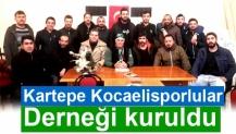 Kartepe Kocaelisporlular Derneği kuruldu