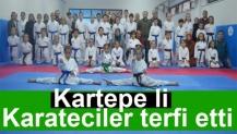 Kartepe li Karateciler terfi etti