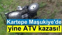 Kartepe Maşukiye'de yine ATV kazası!