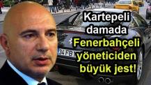 Kartepeli damada Fenerbahçeli yöneticiden büyük jest!