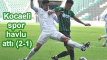 Kocaelispor havlu attı (2-1)