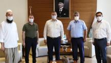 KOTO Başkanı Bulut SUMOTAŞ Başkanlığına seçilen Türker'i ağırladı